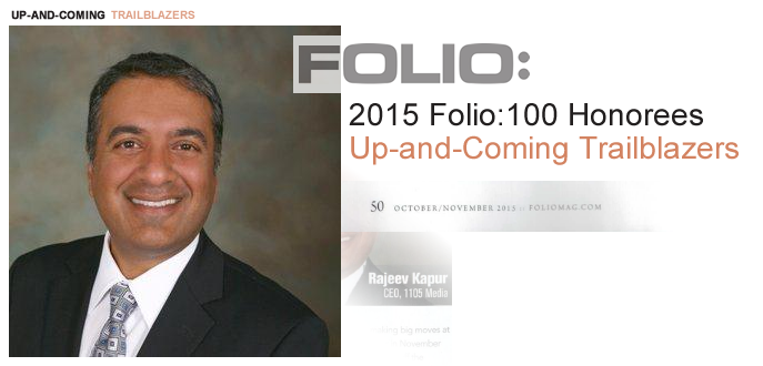 Rajeev Kapur 2015 FOLIO Honoree