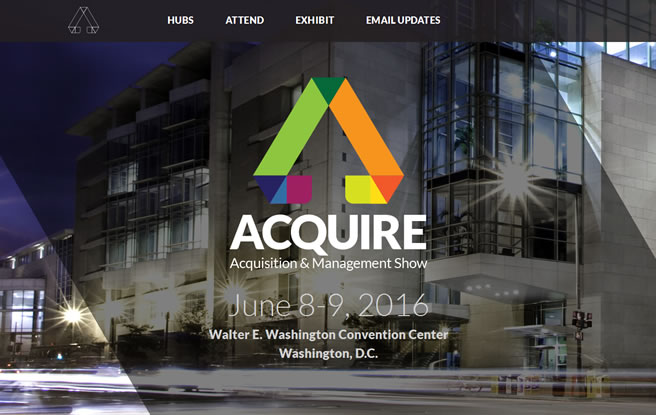 Aquire Conference and Tradeshow