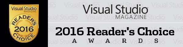 Visual Studio Magazine Announces 2016 Reader's Choice Award